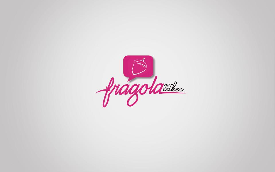 Fragola Cup Cakes Logo design
