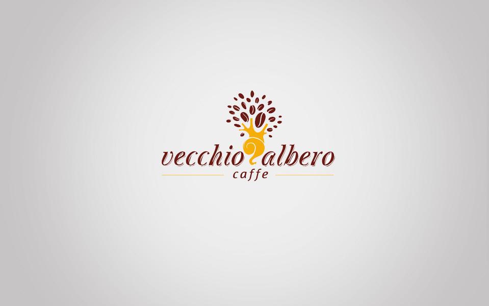 Vecchio Albero Caffe Logo Design