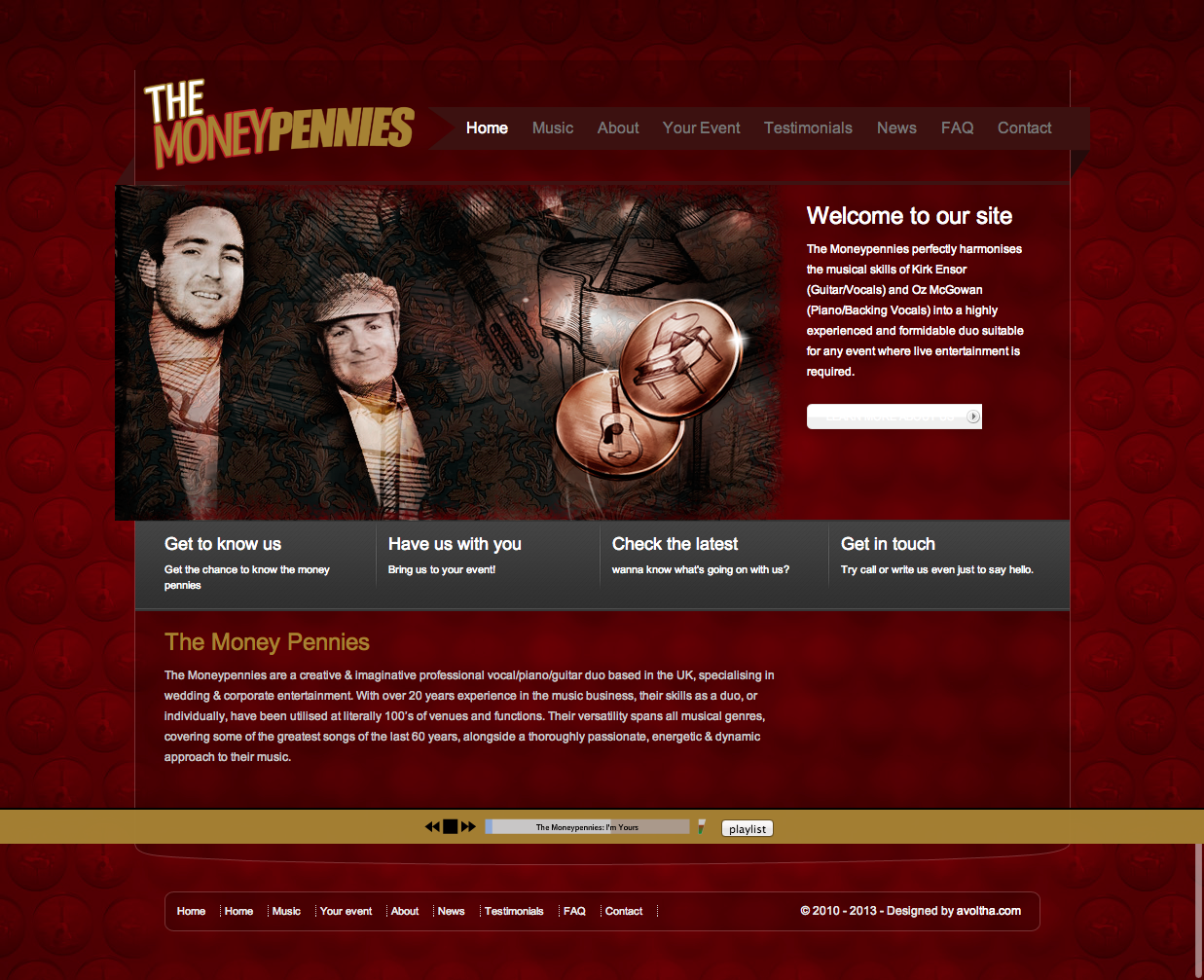 The Money Pennies Website